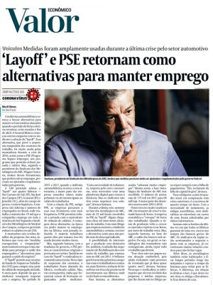 ´Layoff´ e PSE retornam como alternativas para manter emprego